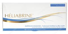 Ампулы Укрепляющие с БИО серой для жирной кожи головы (Heliabrine | Линия средств для волос | Ampoules anagenes traitment fortifiant au bio soufre), 8*5 мл.