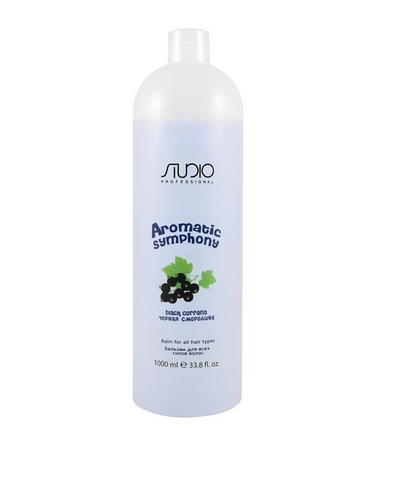 Бальзам для всех типов волос Черная смородина,Kapous Aromatic,1000 мл
