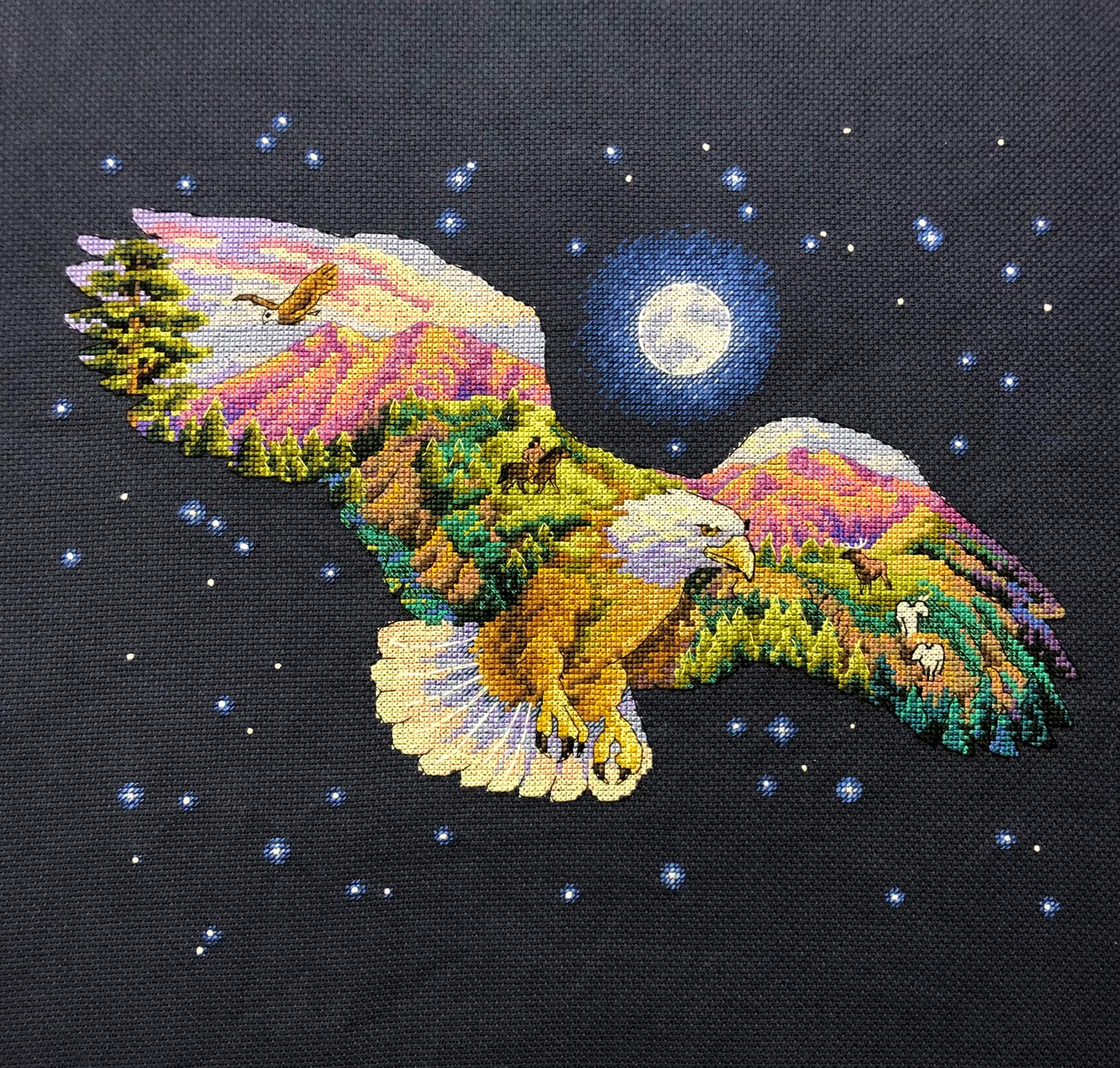 Набор для вышивания Природный взгляд  Арт. 3177