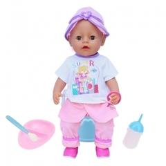 Интерактивный кукла с аксессуарами S+S Toys(звук)
