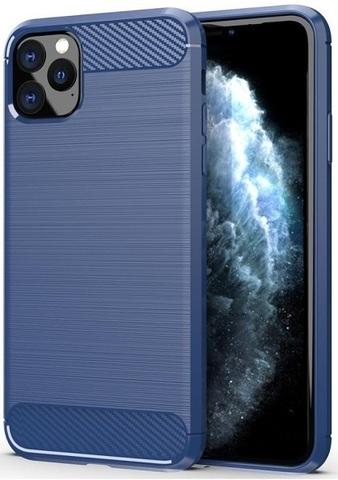 Чехол iPhone 11 Pro Max цвет Blue (синий), серия Carbon, Caseport