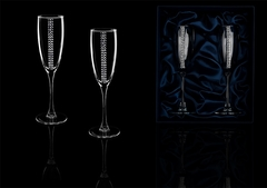 Подарочный набор бокалов для шампанского «Алмазный фонд»