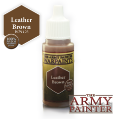 War Paints: Leather Brown