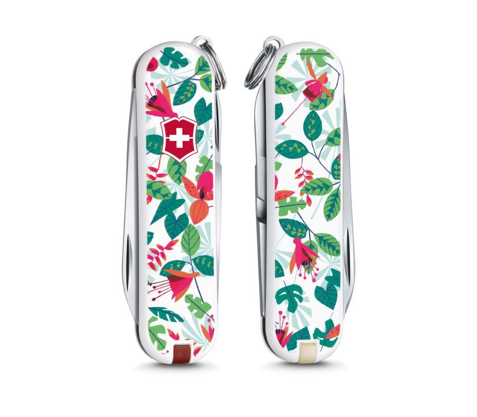 Складной нож-брелок Victorinox Classic LE 2016 Rainforest Walk (0.6223.L1601)