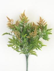 Искусственная зелень Папоротник остроконечный, букет 6 веток, 33 см.