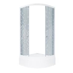 Душевой уголок Triton Стандарт-В1 90х90 стекла мозаика