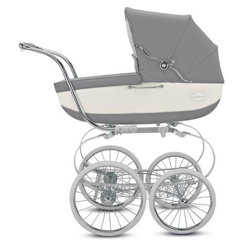 Inglesina Classica на шасси Balestrino коляска для новорожденных