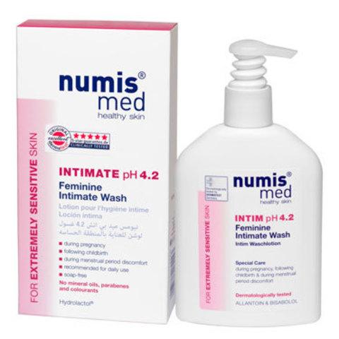 Моющий гель для интимной гигиены у женщин рН 4,2 Numis Med, 200 мл