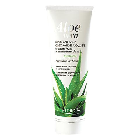 Витэкс Aloe Vera Крем дневной для лица Омолаживающий с соком Алоэ и витаминами А и Е 75 мл