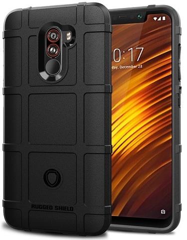 Чехол Xiaomi Pocophone F1 цвет Black (черный), серия Armor, Caseport