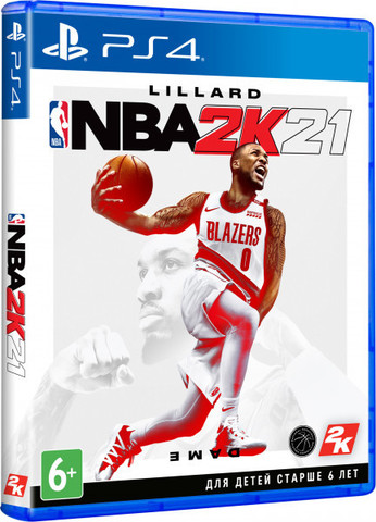 PS4 NBA 2K21 (английская версия)