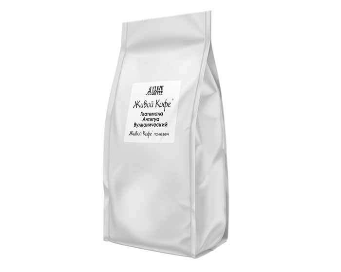 Кофе в зернах Живой Кофе Guatemala Antigua Vulcane, 1 кг
