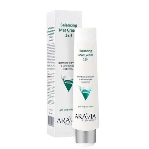 Aravia Professional Крем для лица балансирующий с матирующим эффектом 100мл