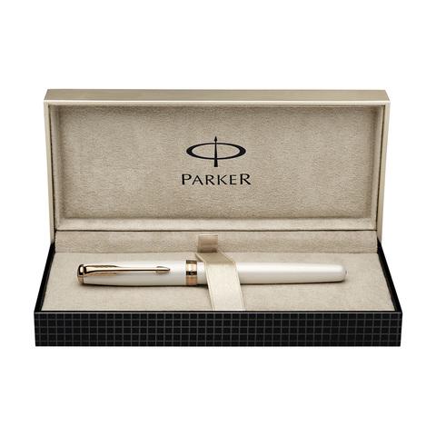 Parker Sonnet - Pearl PGT, ручка-роллер, F, BL
