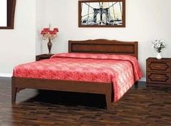 Кровать из массива Карина-7 (900) орех