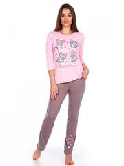 1481 костюм женский, розовый