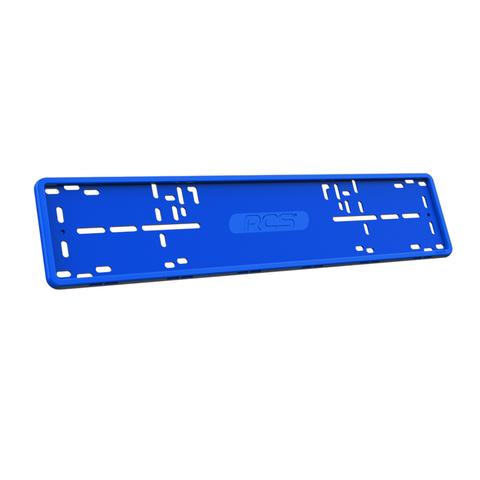 Силиконовая рамка для автомобиля RCS - синяя