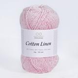 Пряжа Infinity Cotton Linen 4302 нежно-розовый