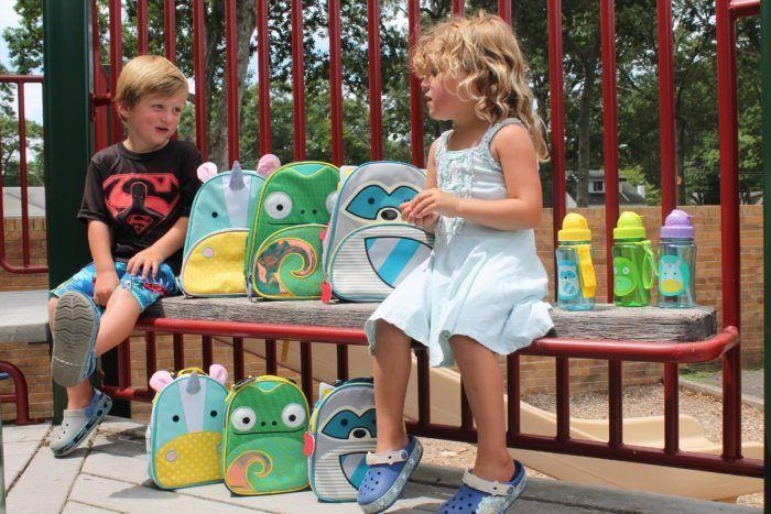 Рюкзак детский Skip Hop Zoo Хамелеон
