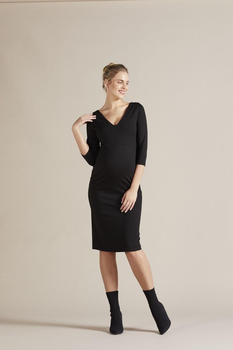 Платье для беременных 09750 черный
