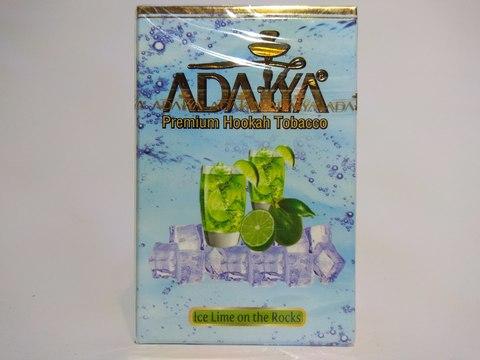 Табак для кальяна ADALYA Ice Lime On The Rocks 50 g