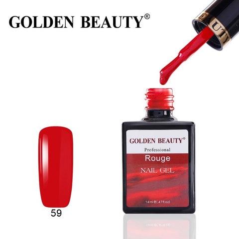 Гель лак Golden Beauty 14 ml, Rouge