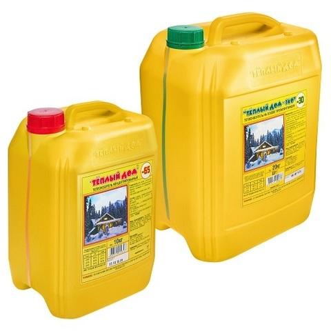 Антифриз для систем отопления ХимАвто Теплый дом ЭКО-30, 10 литров