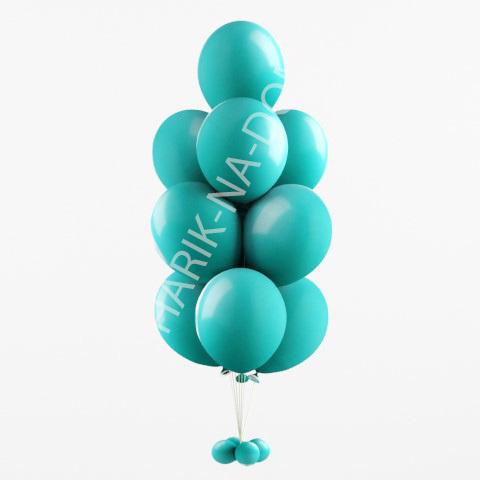 Оформление шариками 1 сентября Фонтан из бирюзовых шаров (Тиффани) Бирюзовый_фонтан_из_шаров.jpg