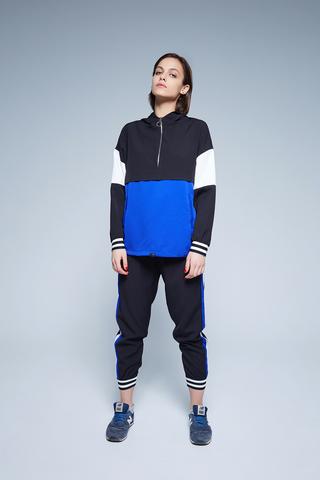 черно-синий спортивный костюм недорого