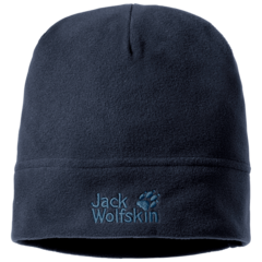 Шапка флисовая Jack Wolfskin Real Stuff Cap night blue