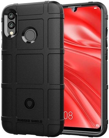 Чехол на Huawei Honor 10 lite (P Smart 2019 и Nova Lite3) цвет Black (черный), серия Armor, Caseport