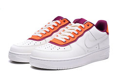 Nike Air Force 1 Low 'White/Orange/Purple'