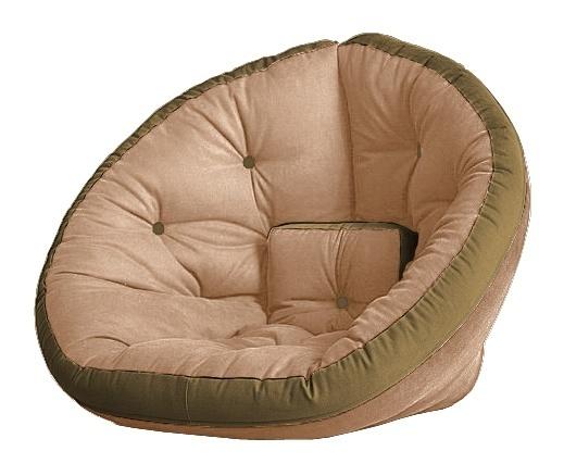 Универсальные кресла Кресло Farla Lounge Бежевое с оливковым tbeg_olive_olive.jpg