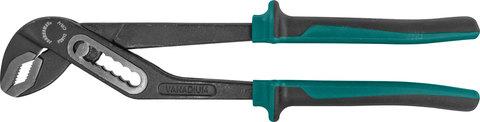 P28112 Клещи переставные с коробчатым захватом, двухкомпонентные рукоятки, 300 мм