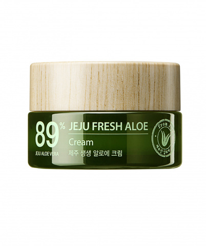 Крем для лица с алоэ THE SAEM Jeju Fresh Aloe Cream 50 мл