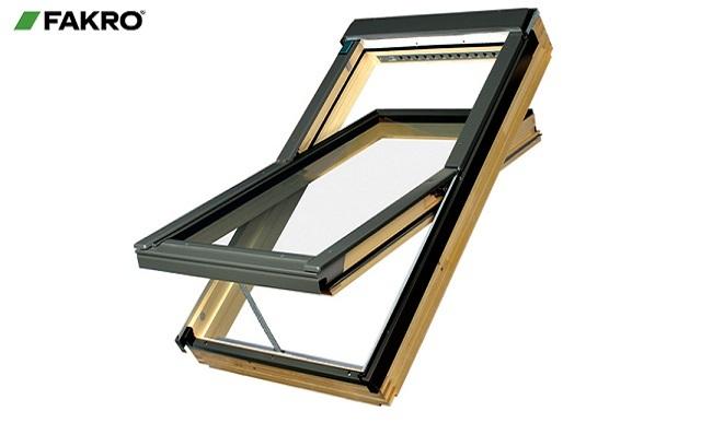Мансардное окно со среднеповоротным открыванием FTS-V 06 U2 (78х118)