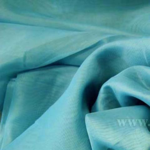Ткань вуаль однотонная для штор - бирюзовая. Ш - 300 см. Арт. -SH 16