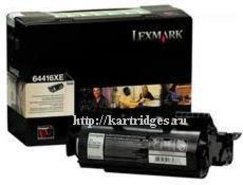 Картридж Lexmark 64416XE