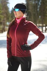 Женская элитная утеплённая лыжная куртка Nordski Elite Wine