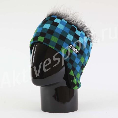 Картинка шапка с ушами Eisbar pixel cocker 009