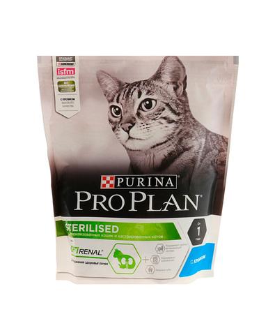 Pro Plan сухой корм для стерилизованных кошек (кролик) 400 г