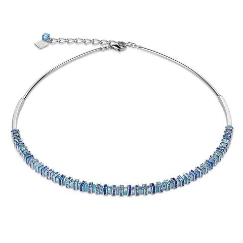 Колье Coeur de Lion 4858/10-0720 цвет голубой