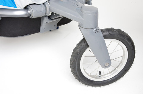 Картинка коляска Thule Chariot Chinook2 со спортивным и прогулочным набором