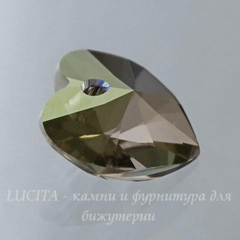 6228 Подвеска Сваровски Сердечко Crystal Iridescent Green (14,4х14 мм) (large_import_files_15_15532ae6e73011e38f66001e676f3543_41560744efb54dda9f05ebd0732f435a)