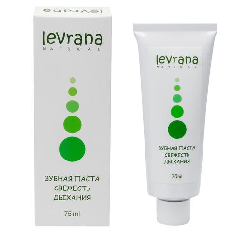 Levrana, Зубная паста свежесть дыхания, 75мл