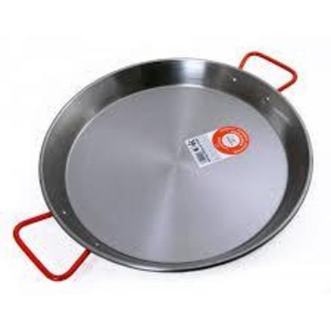 Сковорода-паэльера из углеродистой стали, набор для паэльи Andreu. Фото