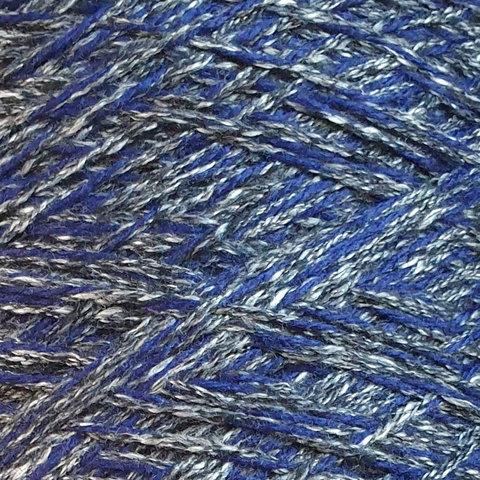 Смесовка с мериносом и кашемиром SESIA / HAPPY 245 серо-синий