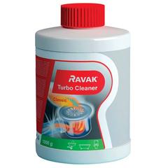 Купить чистящее средство Ravak Turbo Cleaner (1000мл) X01105 для устранения отложения в сифонах и трубах в Краснодаре