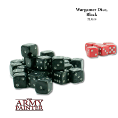 Tool: Wargaming Dice: Black+Red(30+6)