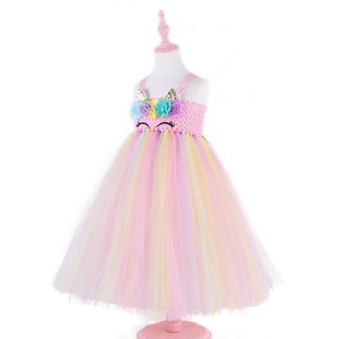 Детское платье Единорог